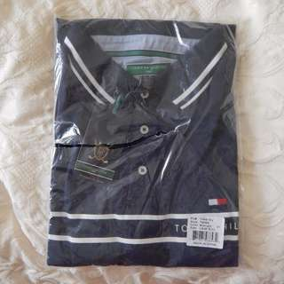Tommy Hilfiger mens golf shirt, size large, brand new with tags