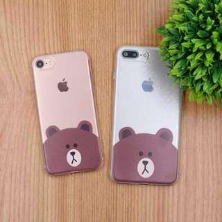 Line Brown / Cony Mobile Phone Case [Apple / Samsung / Oppo]
