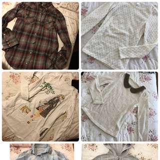 Winter Clothes Bundle Size 8