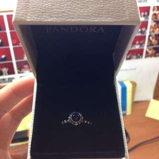 Pandora Silver September Birthstone Ring