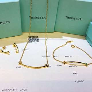 Tiffany & Co. Gold Accessories set of 3