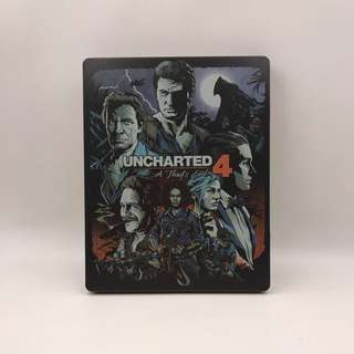 Uncharted 4 Collectible Steelbook