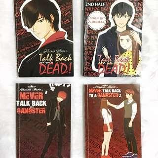 Talk Back & You're Dead Series