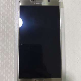 Samsung Galaxy Note 5 Gold Platinum 32GB