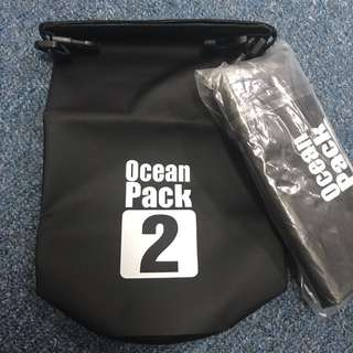 BNIP Ocean Pack Mini Waterproof Bag ( Black )