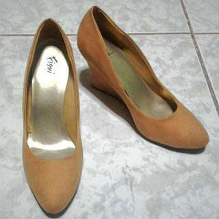 Fioni Wedge Pumps from Payless