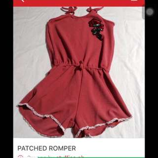PATCHED ROMPER