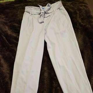 High Waisted Light Lilac Business Pants