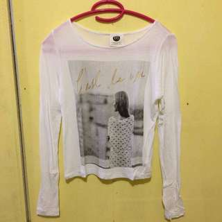 Cotton On Crop Long sleeves (XXS)