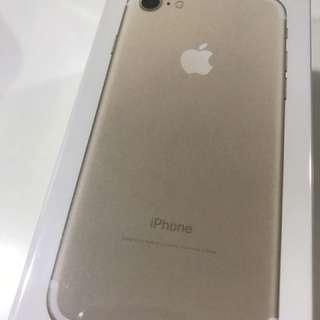 iPhone 7 256GB Gold, New (non Neg)