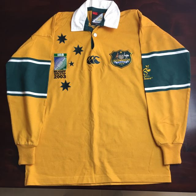 2003 Authentic Rugby World Cup Jersey Size S