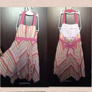 Girl's halter dress