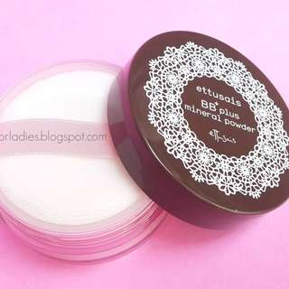ETTUSAIS BB PLUS MINERAL POWDER (Loose Powder)