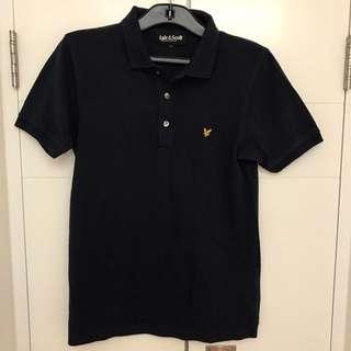 Lyle & Scott Slim Fit Navy Polo shirt
