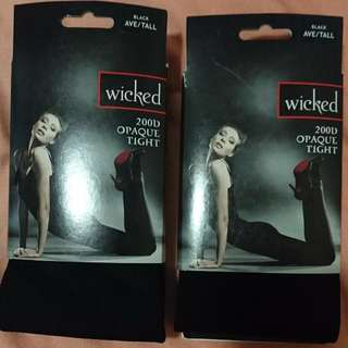 Wicked Black Tights AVE/TALL