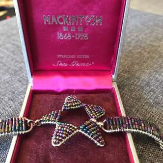 Mackintosh beaded bracelet