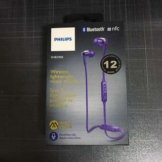 PHILIPS 藍芽耳機 耳筒 Bluetooth Headphones earphones