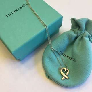 Authentic Tiffany Necklace & Earrings