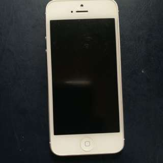 iPhone 5 Silver/White