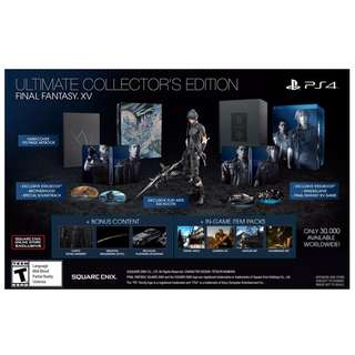 FINAL FANTASY XV (FFXV) ULTIMATE COLLECTOR'S EDITION R1 [PS4]