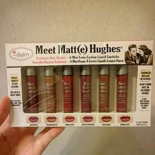 The Balm Meet Matt(e) Hughes 新色