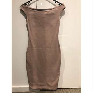 Kookai Off-Shoulder Bodycon Dress
