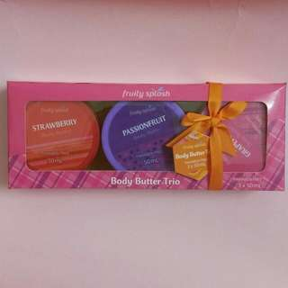 Body Butter Trio Fruit Paraben Free