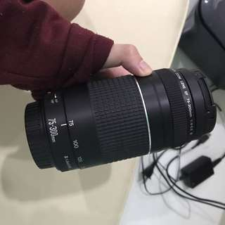 CANON LENS EF75-300mm F4-5.6 III (TRADE POSSIBLE)