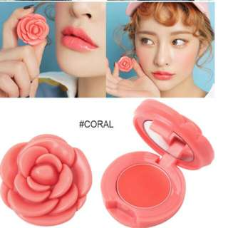 Rose Lipsticks: Mint Care/Tinted Pink/Red/Brick Red/Coral