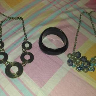 Take It All For 2h Necklace Bracelet