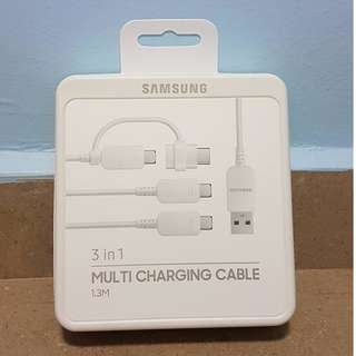 Samsung Multi Charging Cable (White)