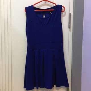 Magnolia Electric Blue Casual Dress