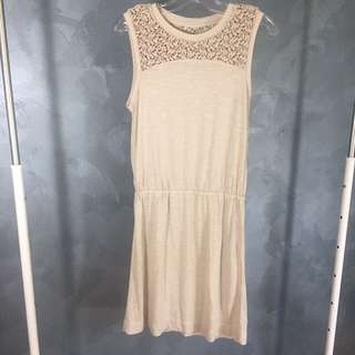 NEW! Crochet Drop Waist Dress NWOT