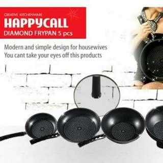 Happycall Diamond Frypan 5pcs
