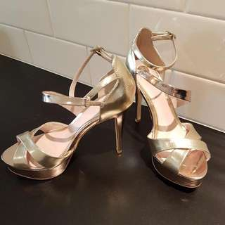 Gold & Rose Gold Heels