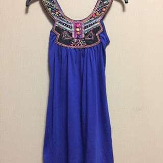 Dress blue manik