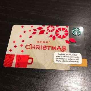 Starbucks Singapore Merry Christmas Corporate Card