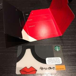 Starbucks Singapore Alice Olivia Card