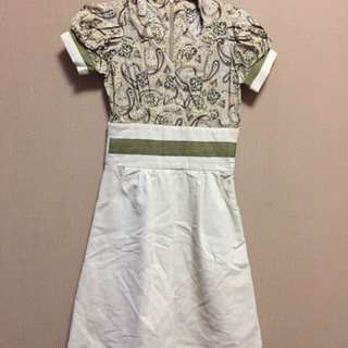 dress atas motif batik