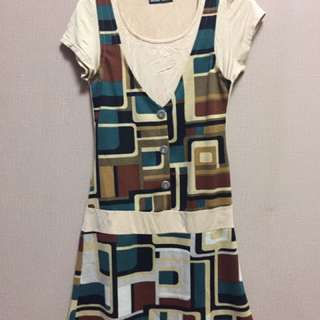 dress motif rompi