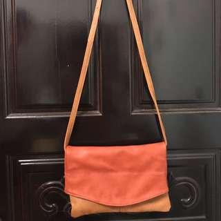 NET 橘啡色包包