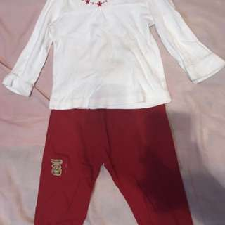 Girls Embroidered Top FREE Pants
