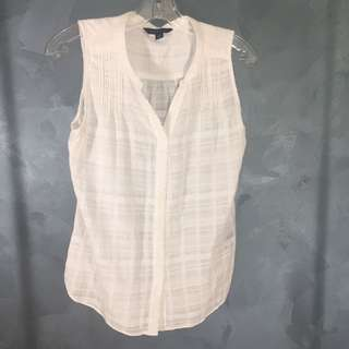 Gorgeous 100% Cotton Tommy Hilfiger Sleeveless Blouse