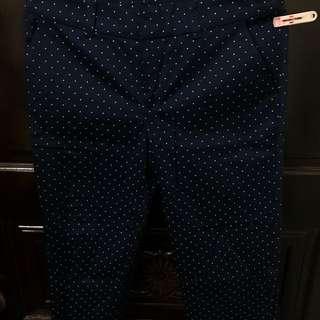 NET深藍色長褲