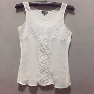 Warehouse White Tanktop