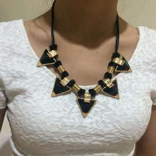 Black Egyptian Necklaces