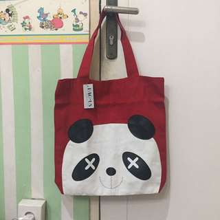 NEW RED TOTE BAG