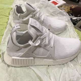 Adidas Nmd Pk Primekni Triple White New 41 1/3