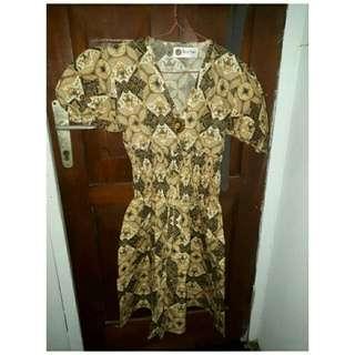 Dress Batik Putri