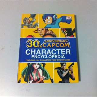 Capcom Character Encyclopedia Street Fighter Darkstalkers